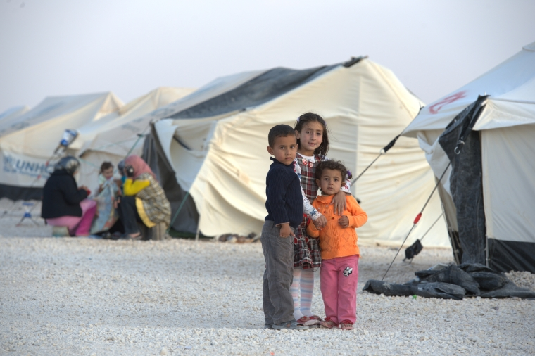 Syrian refugees, Jordan. Paul Jeffrey, ACT 2012