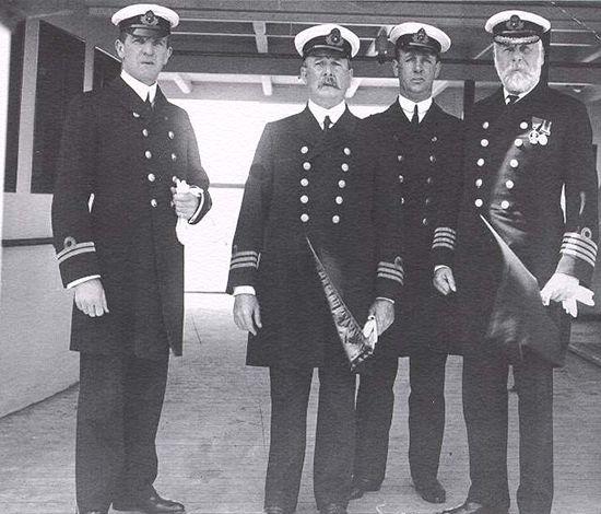 L'équipage du Titanic (archives).