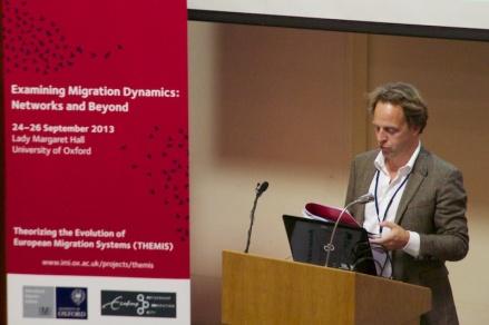 Hein de Haas, 2013, University of Oxford