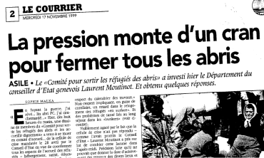 Courrier 17 nov 1999