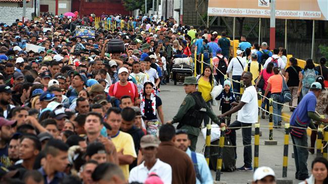 Le Venezuela se vide et provoque une crise migratoire sans précédent dans l'histoire récente de larégion